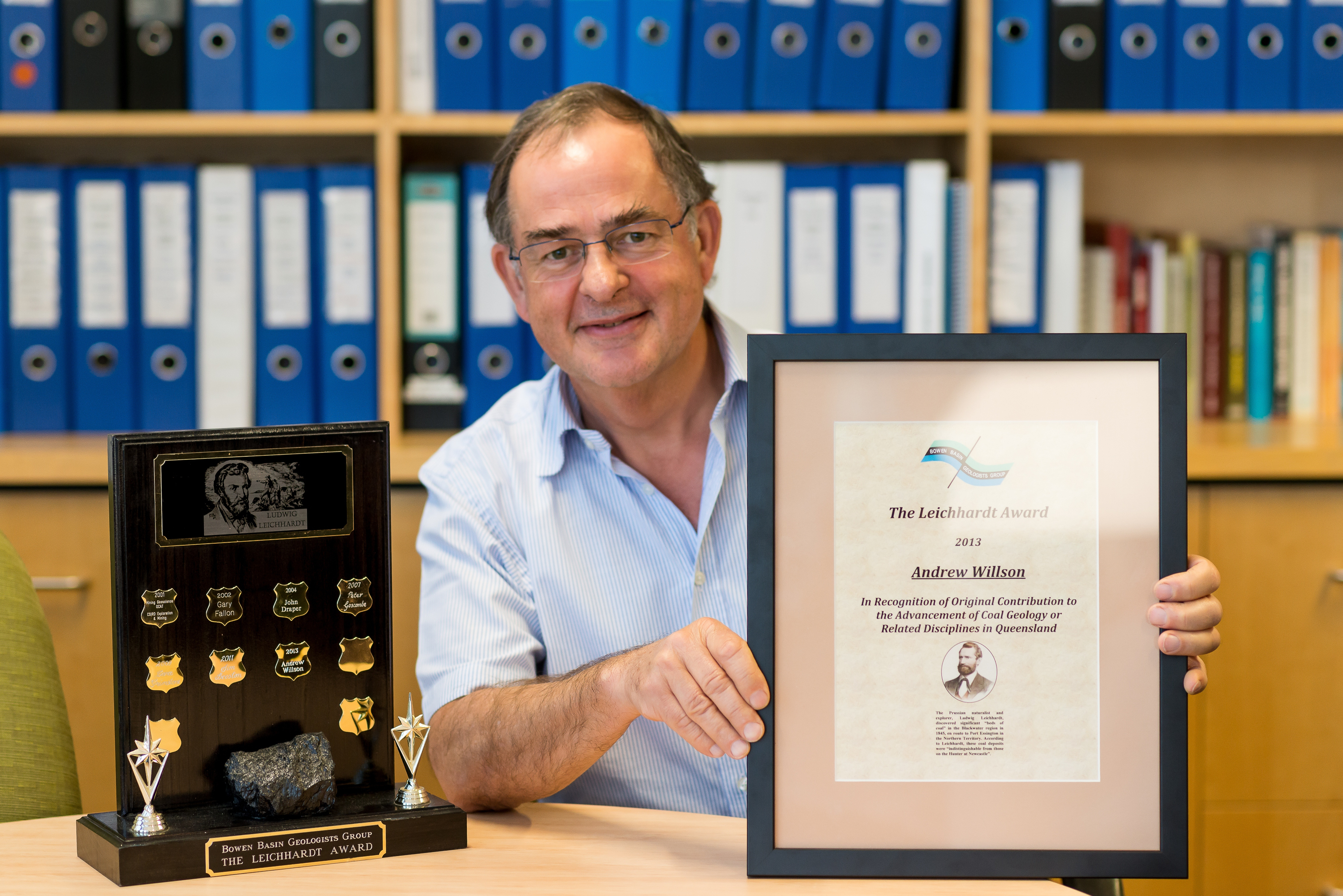 Andy Wilson - Leichhardt Award