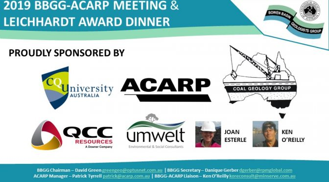 2019 BBGG-ACARP Meeting
