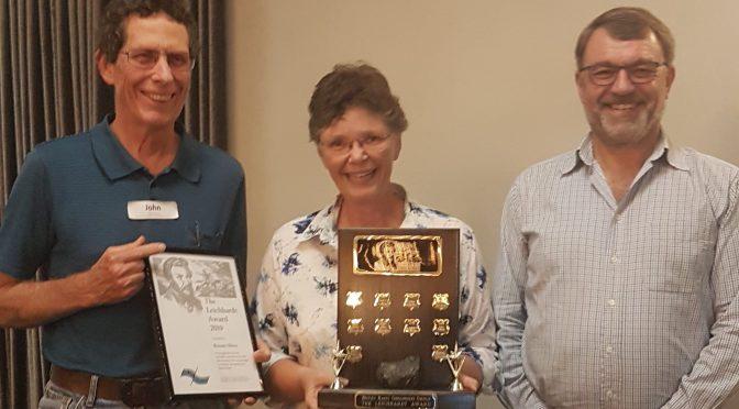 Renate Sliwa awarded The 2019 Leichhardt Award